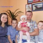 Счастье по собственному проекту. Родить двух сыновей и дочурку, построить собственный дом и посадить возле него сад – с этой программой-минимум ляхавічане Новгородские успешно справились