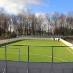 Новую спортивную площадку в Ляховичах оценили почитатели спорта