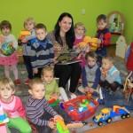 В наглаве сентября на целую группу стало больше в детском саду № 4 г. Ляховичи