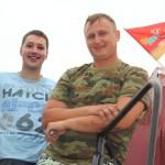 Молодые в главных ролях. В Ляховичском районе на нынешнем жатве работают 9 молодежных экипажей и 8 молодых водителей на адвозцы зерна