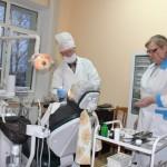 Зубное новоселье. Стоматологический ортопедический кабинет и зубопротезная лаборатория справили новоселье под крышей поликлиники г. Ляховичи /фото/