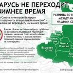 Беларусь не переходит на зимнее время