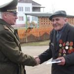 Герои и награды. В Ляховичском районе ветеранам вручают юбилейные медали