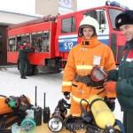 Новогодние подарки получили ляховичские спасатели