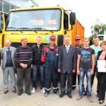 В автоцентре «Виктория», который находится в Ляховичах, сошел с конвейера «65МА10»