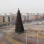 Новый год пришел в Ляховичи спокойно. Почти что