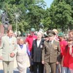 В Ляховичах Дню всенародной памяти жертв Великой Отечественной войны был посвящен автопробег с участием членов общественных объединений