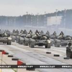 В Минске в параде ко Дню Независимости примут участие 27 парадных расчетов механизированной колонны